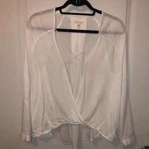 Light sheer blouse